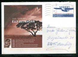 Mi USo 132 - 100 Geburtstag Elly Beinhorn (avions) - Umschläge - Gebraucht