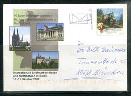 Internationale Briefmarken-Messe Und NUMISMATA In Berlin - 10-11 Oktober 2009 - Umschläge - Gebraucht