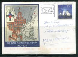 Mi USo 209 - 100 Jahre Marineschule Mürvik ( 1910-2010) (bateaux) - Umschläge - Gebraucht