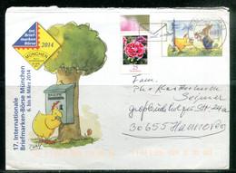 17 Internationale Briefmarken-Bôrse München - 6-8 März 2014 - Umschläge - Gebraucht