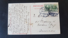 Kobenhavn - Sent To Boston Massachusetts USA - Gebraucht