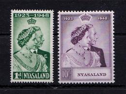 Royal Silver Wedding 1948 UMM - Nyasaland (1907-1953)