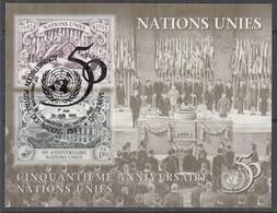 UNO GENF  Block 7, Gestempelt, 50 Jahre Uno, 1995 - Blocks & Kleinbögen