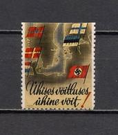 Deutsches Reich Scandinavian Legion Cinderella Propaganda Vignette Postfrisch - Vignetten (Erinnophilie)