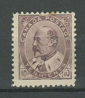 Canada 1903 ☀ 10 Cent Sc#93 - $440 ☀ MNG - Unused Stamps