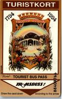 17358 - Norwegen - Turistkort , Tourist Bus Pass - Altri