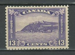 Canada 1932 - Medallion Issue 13c Sc 201 ☀ MH Stamp - Unused Stamps