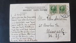 Aarhus - Landsudstillingen 1909 - Sent To New York USA - Gebraucht