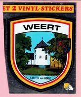 Sticker - VINYL STICKER - WEERT - Kasteel Van HORNE - Adesivi