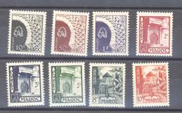 Maroc  :  Yv  277-84  ** - Unused Stamps