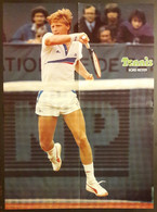 POSTER Tennis 1988 Boris BECKER Allemagne Germany 39 X 53 Cm - Altri