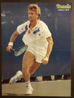 POSTER Tennis 1988 MILOSLAV MECIR Tchécoslovaquie US OPEN 40 X 54 Cm - Altri