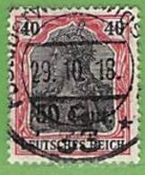 MiNr.20 O  Deutschland Deutsche Besetzg,1.WK Belgien - Occupazione 1914 – 18