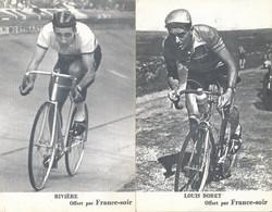 Sports Cyclisme Tour De France Lot De 23 Cartes Coureurs Cyclistes Louis Bobet Et Rivière - Cycling