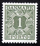 Denmark Portomarke Postage Due 1934 Minr. 25  MNH (**)  ( Lot  Ks 718 ) - Portomarken