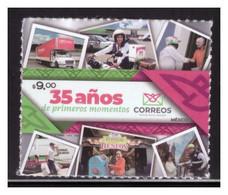 2021 MÉXICO 35 Aniversario Del Servicio Postal Mexicano, 35th Anniversary Of The Mexican Postal Service SELF-ADHERIBLE - México