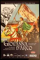 Giovanna D'Arco Comic Carte Postale - Comics