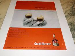 ANCIENNE PUBLICITE MARNISSIMO AVEC GRAND MARNIER 1997 - Alcolici