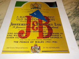ANCIENNE PUBLICITE  SCOTCH  WHISKY J B  1990 - Alcolici