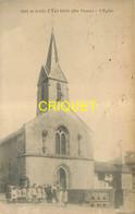87 St Priest-Taurion, L'Eglise, Groupe D'enfants , Verso Cachet épicerie Boudeau - Saint Priest Taurion