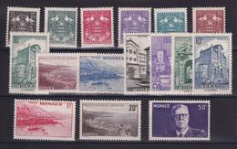 D 235 / MONACO / LOT N° 249/264 NEUF** COTE 11€ - Verzamelingen & Reeksen