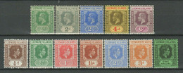 Leeward Islands 1921 -1938 ☀ Lot Of MNH** Stamps - Leeward  Islands