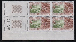 FRANCE  Coin Daté **   N° Yvert Service 66  26.10.81  Neuf Sans Charnière CD - Dienstpost
