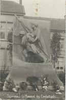TAMINES : Le Monument Des Combattants - RARE CARTE PHOTO - Sambreville
