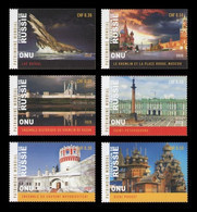 United Nations (Geneva) 2020 Mih. 1119/24 UNESCO World Heritage In Russia (II) MNH ** - Ungebraucht