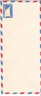Nations Unies - New York - Lettre Années 50 - Entier Postal Aérien - Drapeaux - Avions - - Luftpost