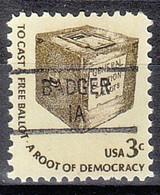 USA Precancel Vorausentwertungen Preos, Locals Iowa, Badger 841 - Precancels