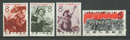 "China PRC 1965 ☀ ""Vietnamese People's Struggle"" ☀ MNH** - Ungebraucht"