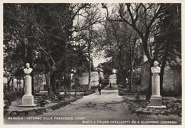 Cartolina - Postcard /  Viaggiata - Sent /  Marsala - Villa F. Crispi.  ( Gran Formato )  Anni 50° - Marsala