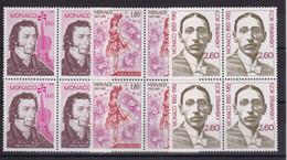 D 237 / MONACO / LOT N° 1344/1346 BLOC DE 4 NEUF** COTE 30€ - Verzamelingen & Reeksen