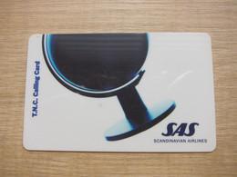 TNC Calling Card, SAS Scandinavian Airlines - GSM, Cartes Prepayées & Recharges