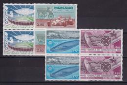 D 237 / MONACO / LOT N° 1370/1373 PAIRE NEUF** COTE 24.40€ - Verzamelingen & Reeksen