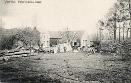 2 Ième MARCHIN Scierie De La Basse. Edit: N. Laflotte. Prés De Huy, Vyle-et-Tharoul Et Jallet (Ohey). Postée 1919 - Marchin