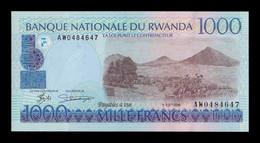Ruanda Rwanda 1000 Francs 1998 Pick 27b SC UNC - Rwanda