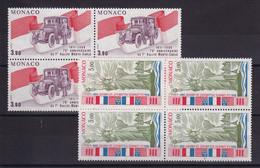 D 237 / MONACO / LOT N° 1534/1535 BLOC DE 4 NEUF** COTE 22.80€ - Verzamelingen & Reeksen