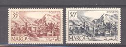 Maroc  :  Yv  292-93  ** - Unused Stamps