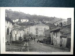54 ,sexey Aux Forges ,rue De La République En 1918..nom Effacé En Bas Cause Guerre - Other Municipalities
