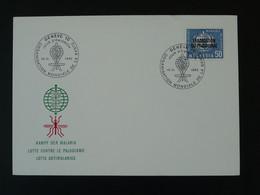 FDC Malaria Eradication Du Paludisme OMS WHO Timbre De Service 1962 Suisse Ref 100824 - Sonstige