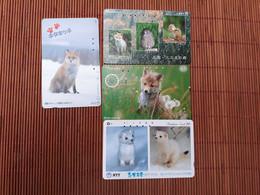 4 Phonecards Animals Used Rare - Non Classificati