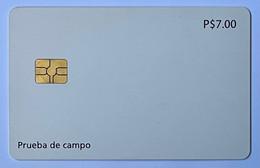 Prueba De Campo, White Card - Cuba