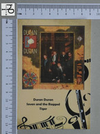 POSTCARD - DURAN DURAN -  LP'S COLLETION -   2 SCANS  - (Nº45310) - Music And Musicians