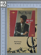 POSTCARD - PAUL YOUNG -  LP'S COLLETION -   2 SCANS  - (Nº45316) - Music And Musicians