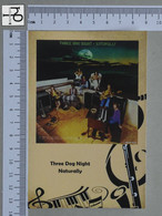 POSTCARD - THREE DOG NIGHT -  LP'S COLLETION -   2 SCANS  - (Nº45323) - Music And Musicians