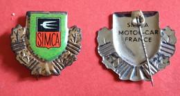 Vintage Pin - Simca / Motor Car  France - Altri
