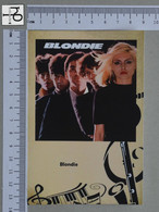 POSTCARD - BLONDIE -  LP'S COLLETION -   2 SCANS  - (Nº45326) - Music And Musicians