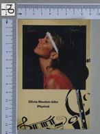POSTCARD - OLIVIA NEWTON-JOHN -  LP'S COLLETION -   2 SCANS  - (Nº45335) - Music And Musicians